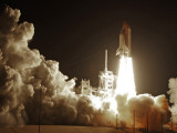 Space Shuttle Discovery Lifts-Off from the Kennedy Space Center at Cape Canaveral  Florida