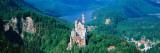 View of a Castle  Neuschwanstein Castle  Bavaria  Germany