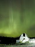 Northern Lights Dance across the Sky Near Palmer  Alaska