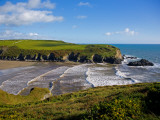 Stradbally Strand  the Copper Coast  County Waterford  Ireland