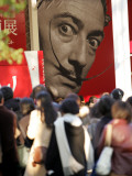 Visitors Form a Long Queue Outside Tokyo's Ueno-No-Mori Art Museum