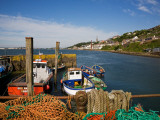 Fishing Harbour at the Pilot Boast Qauy  Cobh  County Cork  Ireland