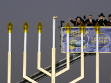 White House Chief of Staff and Rabbis Light the National Hanukkah Menorah