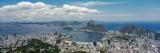 View of a City  Sugarloaf Mountain  Rio De Janeiro  Brazil