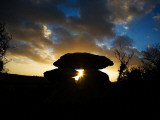 Megalithic Knockeen Dolmen  Near Tramore  County Waterford  Ireland