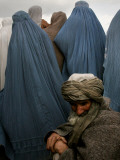 Waiting for Food and Blankets During Food Distribution by Coalition Forces in Kabul  Afghanistan