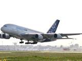 Airbus A380  the World's Largest Passenger Plane  Takes Off Successfully on its Maiden Flight