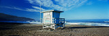 Lifeguard Hut on the Beach  Torrance Beach  Torrance  Los Angeles County  California  USA
