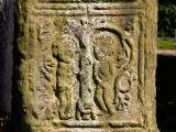 Carving of Adam and Eve on a High Cross  Kells  County Meath  Ireland