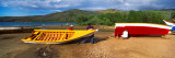 Fishermen Repairing Boats  Mochima  Mochima National Park  Anzoategui State-Sucre State  Venezuela