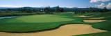 Sand Trap in a Golf Course  Sunriver Resort Golf Course  Sunriver  Deschutes County  Oregon  USA