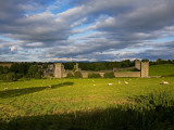 15th Century Walls around Augustinian Monestary  Kells  County Kilkenny  Ireland