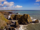Coastal View to Bunmahon  Copper Coast  County Waterford  Ireland