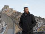 US President Barack Obama Tours the Great Wall in Badaling  China