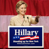 Sen Hillary Clinton Addresses Supporters at the New York Women for Hillary Luncheon