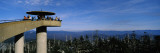 Tourists on an Observation Tower  Clingmans Dome  Great Smoky Mountains National Park  Tennessee