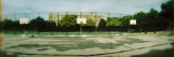 Basketball Court in Public Park  Mccarran Park  Greenpoint  Brooklyn  New York City  New York State