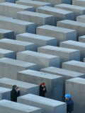 View of the Memorial for the Slain Jews in Berlin