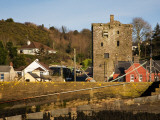 15th Century Ballyhack Castle and Harbour  Co Wexford  Ireland