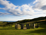 Drombeg Stone Circle  Near Glandore  County Cork  Ireland