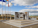 Sculpture to John F Kennedy by Anne Meldon Hugh  New Ross  County Wexford  Ireland
