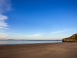 Arthurstown Beach  Overlooking Waterford Harbour  Co Wexford  Ireland