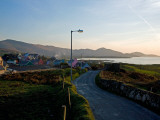 Eyeries Village  Beara Peninsula  County Cork  Ireland