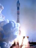 First in Europe's Galileo Satellite Navigation Program Blasts Off at the Baikonur Cosmodrome