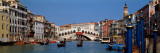 Bridge across a Canal  Rialto Bridge  Grand Canal  Venice  Veneto  Italy