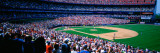 Spectators in Baseball Stadium  Shea Stadium  Flushing  Queens  New York City  New York State  US