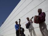 Volcanes Del Norte  a Band Formed by Inmates  Perform Next to Wall Inside Ciudad Juarez City Prison