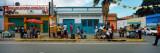 People in a Street Market  Carupano  Sucre State  Venezuela
