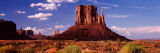 Rock Formations on Landscape  the Mittens  Monument Valley Tribal Park  Monument Valley  Utah  USA