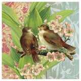Finches and Blossoms