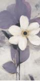 Lavender Japanese Anemone I