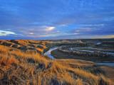 The Marias River Near Shelby  Montana  USA