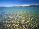 Pebbles in Bear Lake  Near Rendezvous Beach  Utah  USA