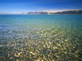Pebbles in Bear Lake  Near Rendezvous Beach  Utah  USA