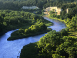 The Niobrara River Near Valentine  Nebraska  USA