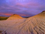 Badlands at Twilight in the Little Missouri National Grasslands  North Dakota  USA