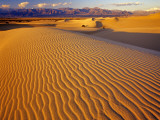 Mesquite Flat Sand Dunes in Death Valley National Park in California  USA