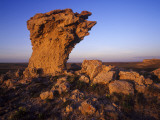 Rock Outcroppings in the Agate Fossil Beds National Monument  Nebraska  USA