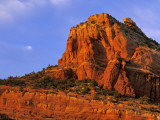 Red Rocks at Sterling Canyon in Sedona  Arizona  USA