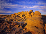 Badlands of Egg Mountain Near Choteau  Montana  USA
