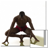 Man Balancing in a Dance  Yoga Pose