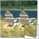 Adirondack Chairs  Puget Island  Wahkiakum County  Washington