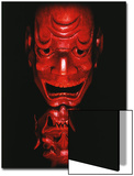 Red Devil Mask  Reflected