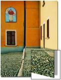 A Square in Baveno  Lake Maggiore  Italy
