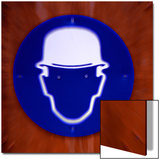 Pictogram with Helmet