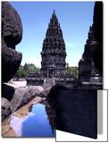 Temples in Prambanan  Indonesia